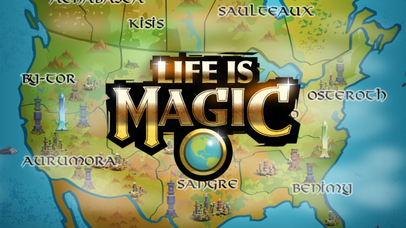 Life is Magic Splash